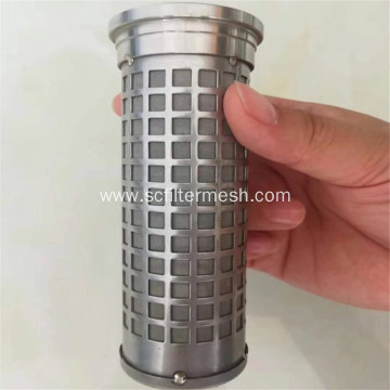 304 Stainless Steel Sintered Filter Elements